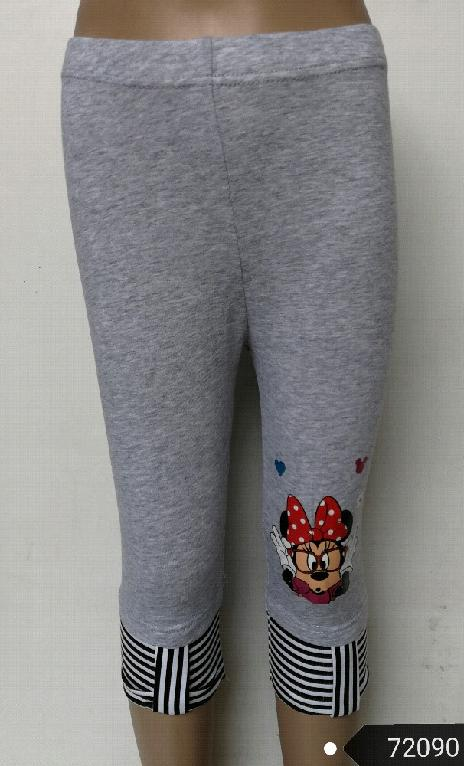 3/4 leginy MINNIE MOUSE vel.98/104 šedé