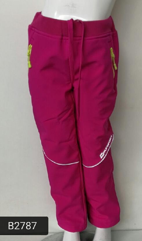softshellové kalhoty dívčí WOLF zateplené Vel.116  7e690ada90b