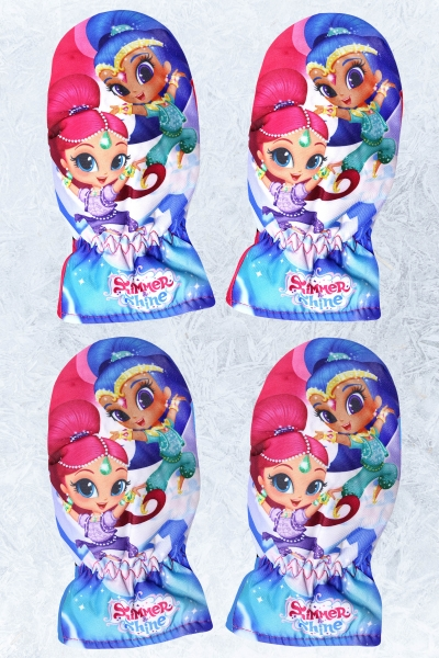 Lyžařské rukavice SHIMMER AND SHINE 5/6 A