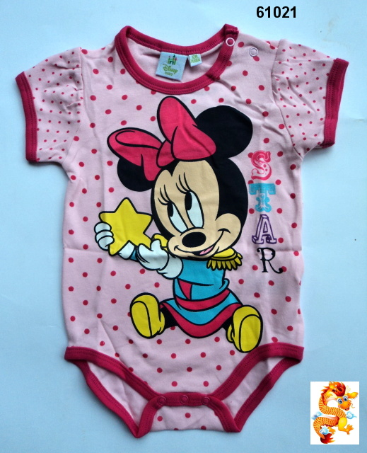 Body MINNIE MOUSE vel.74/80