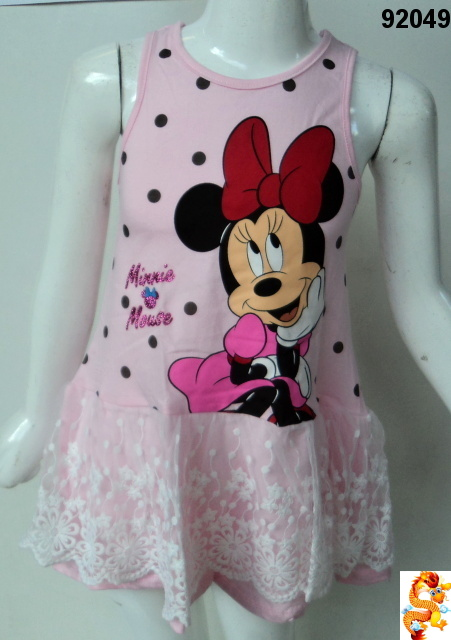 Šaty MINNIE MOUSE 92049 vel.128