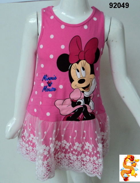 Šaty MINNIE MOUSE 92049 vel.116
